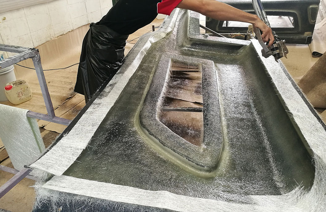 fiberglass and other chopping
